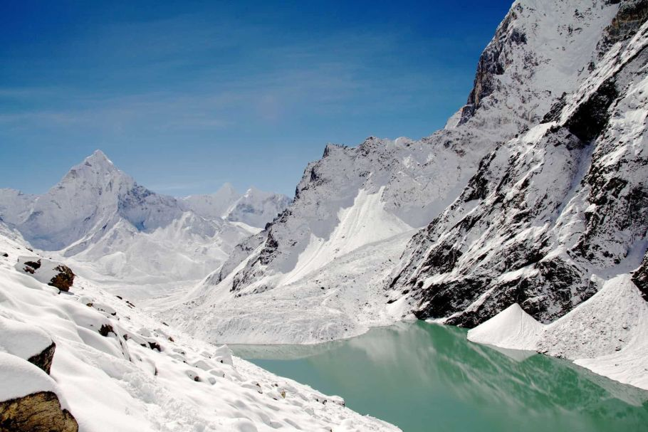 Gokyo Ice Lake
