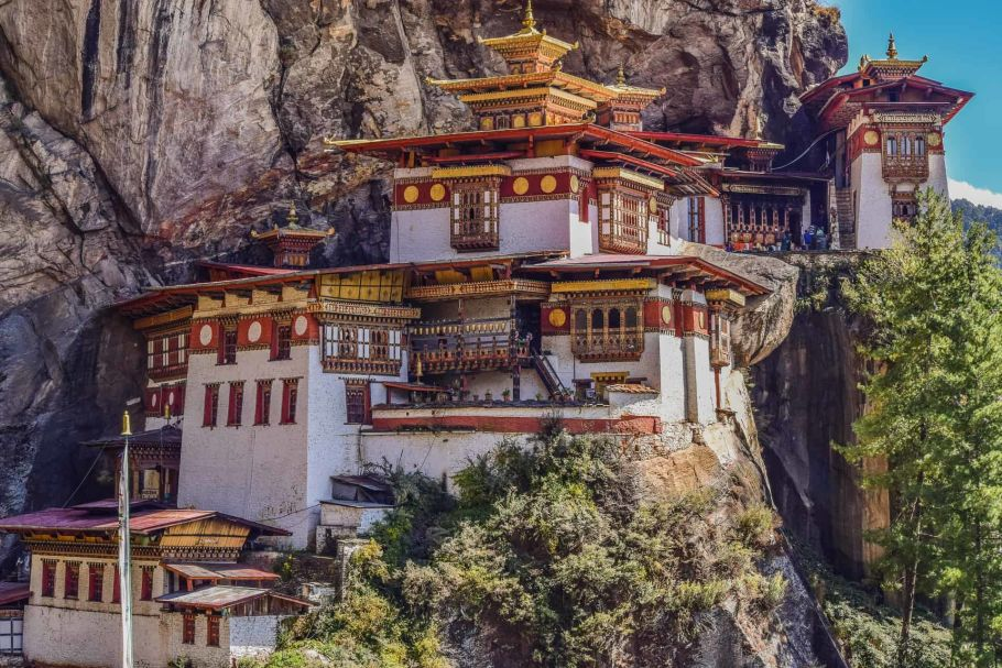 tiger nest of bhutan