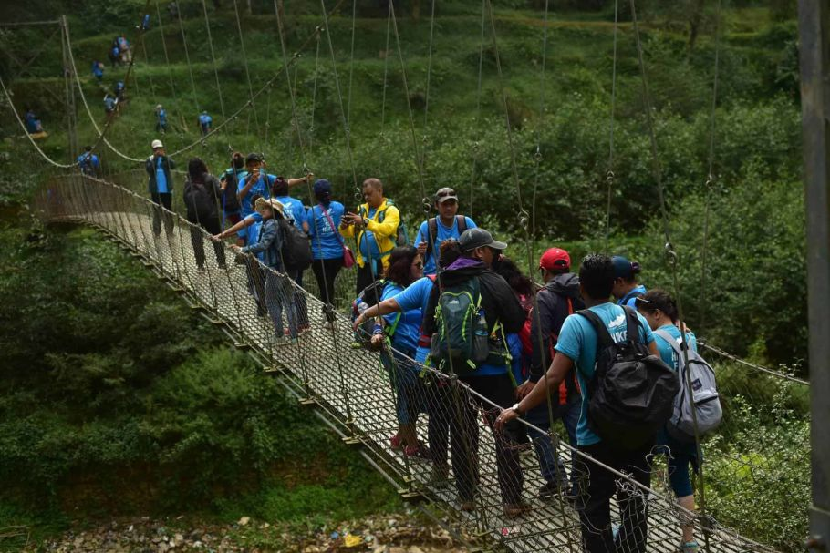 namobuddha hike for nepal