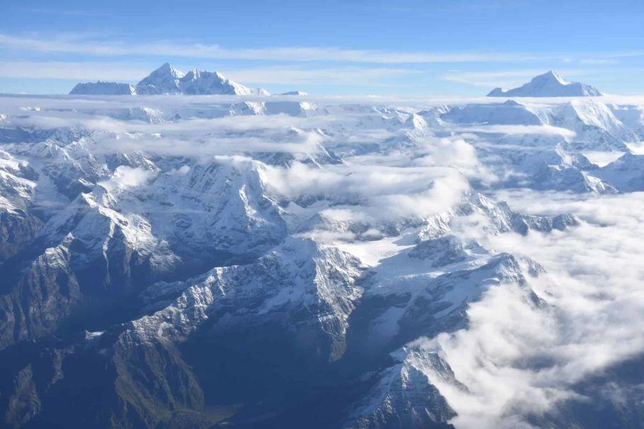 view from island Peak Nepal