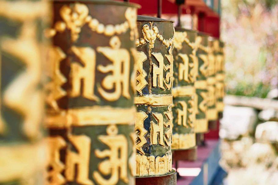 buddhist temple in bhutan