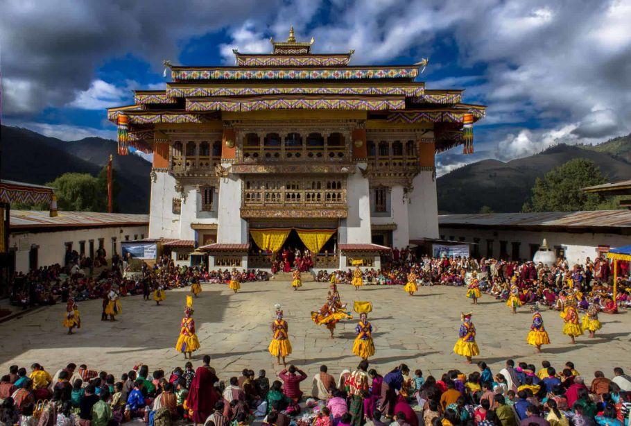 Gangtey Festival in Bhutan