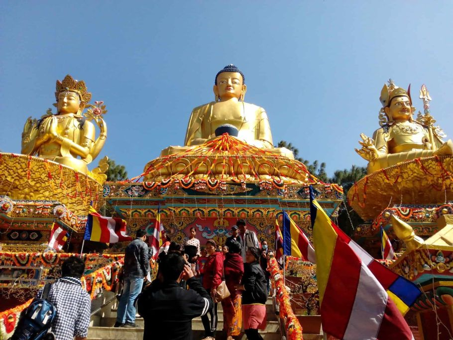 Kathmandu Buddhist God statues