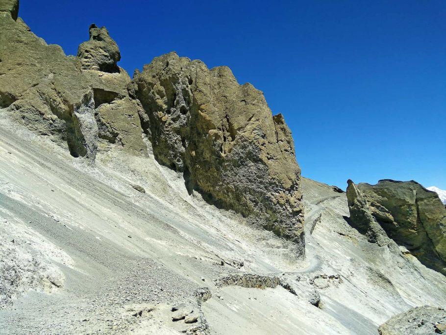manang mountain, nepal