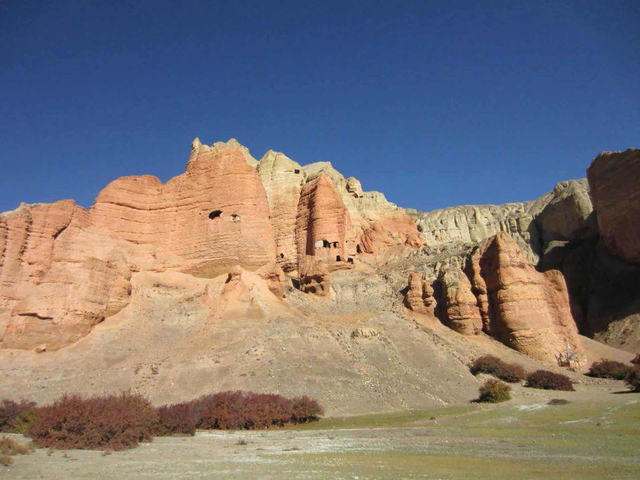 Mustang Rocky Landscape