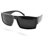 Fekete színű, szögletes napszemüveg