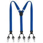 Tirantes de clip finos color azul