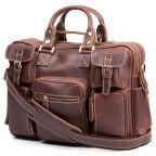 Tan Delton Leather Travel Bag