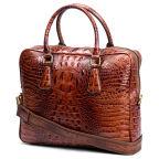 Vintage Alligator Inspired Delton Leather Bag