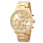 Gold-Tone Chain Troika Watch