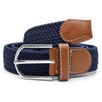Dark Blue Elastic Belt