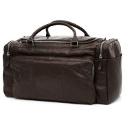 Montreal Brown Leather Travel Bag