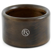 Classic Ebony Wood Shaving Bowl