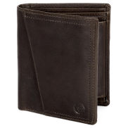 Montreal Rustic Brown RFID Leather Wallet
