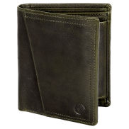 Montreal Rustic Olive RFID Leather Wallet