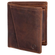 Montreal Rustic Tan RFID Leather Wallet