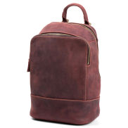 Tan Delton Leather Backpack