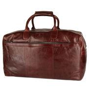 Brown Jasper Weekender Leather Bag