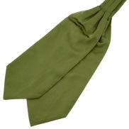 Lövgrön Basic Kravatt