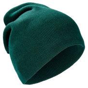 Hosszú zöld beanie sapka