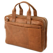 Sac marron pour ordinateur portable California