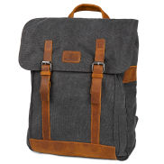 Slater Grey & Tan Classic Backpack