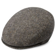 Boston Brown Fido Flat Cap