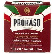 100ml Sandalwood & Shea Butter Pre-Shave Cream