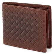 Brown Woven Wallet