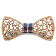 Butterfly Zebrawood Bow Tie
