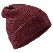 Gorro de lana de merino rojo cereza Kacey