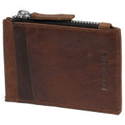 Montreal Mini Tan RFID Leather Wallet
