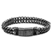 Curb Link Chain Steel Bracelet