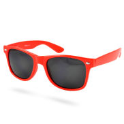 Rote Retro Sonnenbrille