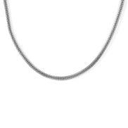 Acél kígyóbőr nyaklánc - 4 mm