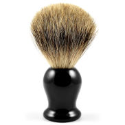 Svart Pure Badger Resin Barberkost