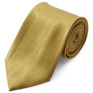 Lesklá zlatá kravata 8 cm Basic
