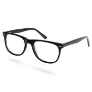 Clear Black Framed Glasses