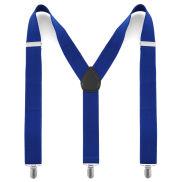 Semplici bretelle blu marino