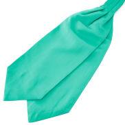 Cravate classique turquoise
