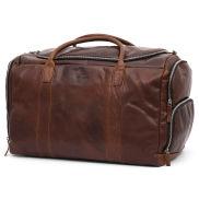 Montreal Large Tan Leather Duffel Bag
