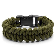 Army Green Paracord Armbånd