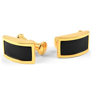 Black & Gold Chain Cufflinks