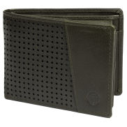 Montreal Dotty Olive RFID Leather Wallet