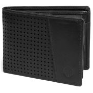Montreal Dotty Black RFID Leather Wallet