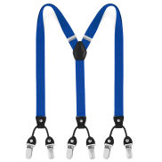 Slim Blue Clip Braces