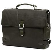 Δερμάτινη Τσάντα Montreal Luxury Olive Satchel