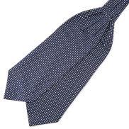 Marineblauer Sterne Krawattenschal Aus Polyester