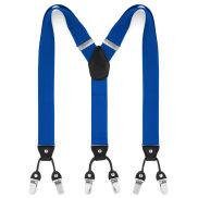 Breite Blaue Clips Hosenträger