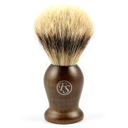 Thorip Ebony Træ Silvertip Barberkost
